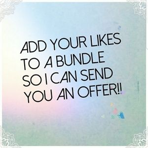 Other - Add your likes to a bundle for a great deal
